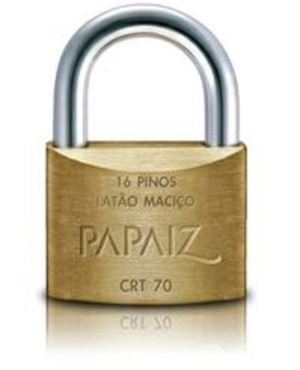 Picture of CADEADO PAPAIZ 70MM CHAVE TETRA