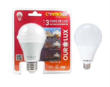 Picture of LAMPADA LED CONTROLED 3 TONS 9W OUROLUX