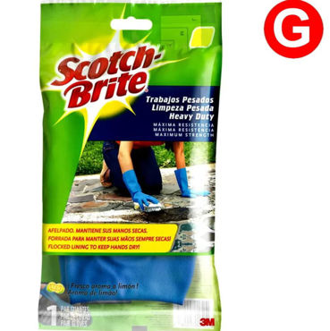 Picture of LUVA 3M SCOTCH BRITE LIMPEZA PESADA TAM. GRANDE